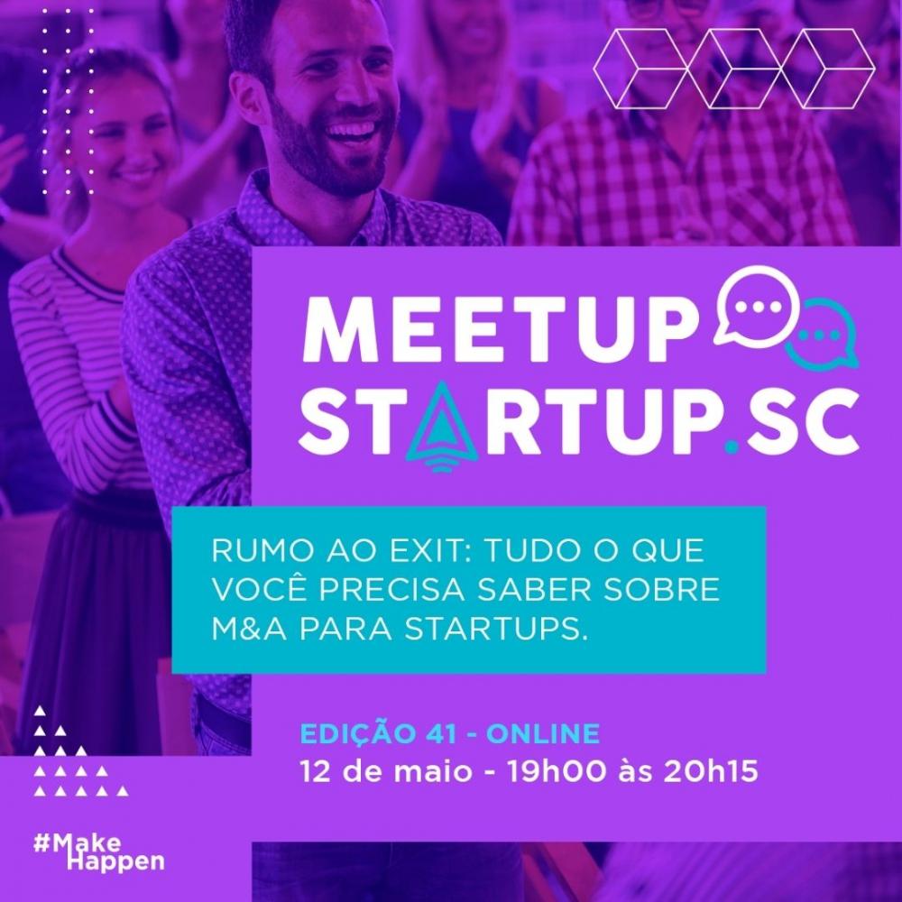 Fusões e aquisições de startups é tema em evento gratuito do Startup SC