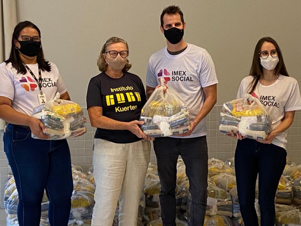 Imex Medical Group vai doar 5 mil cestas básicas para 14 instituições