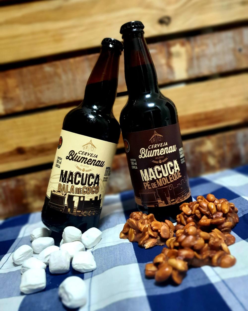 Cerveja Blumenau apresenta edições limitadas de cervejas com coco e amendoim