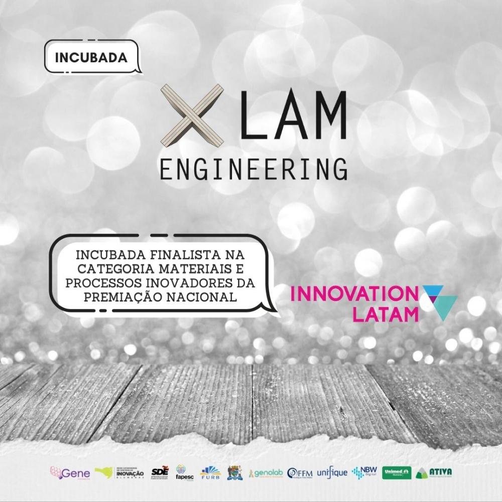 XLam Engineering é selecionada como finalista da premiação nacional da Innovation Latam