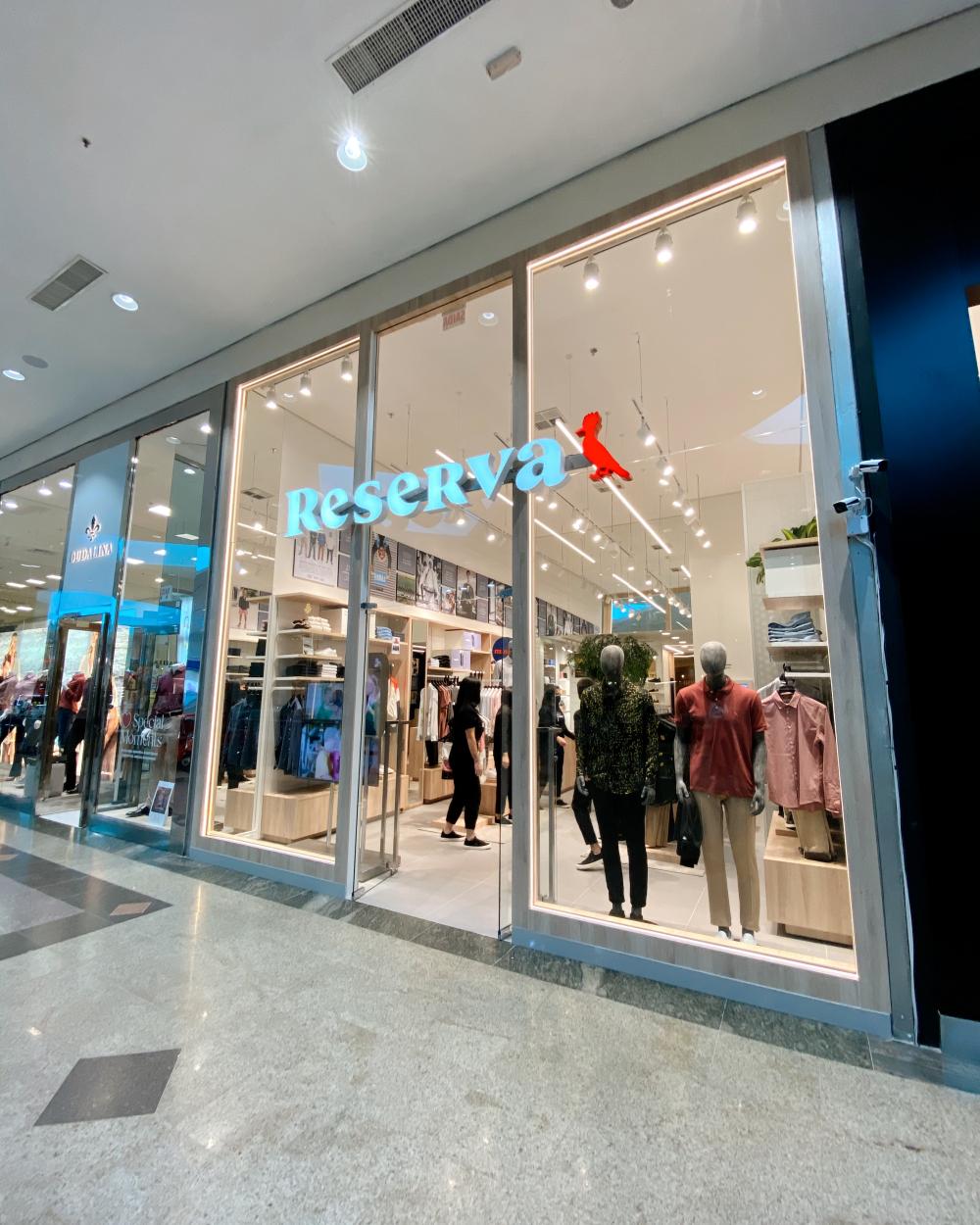 Marca carioca Reserva inaugura loja no Neumarkt Shopping