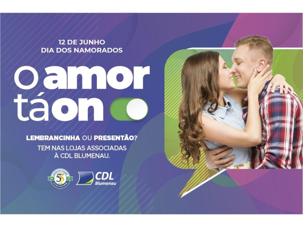 CDL Blumenau lança campanha de Dia dos Namorados