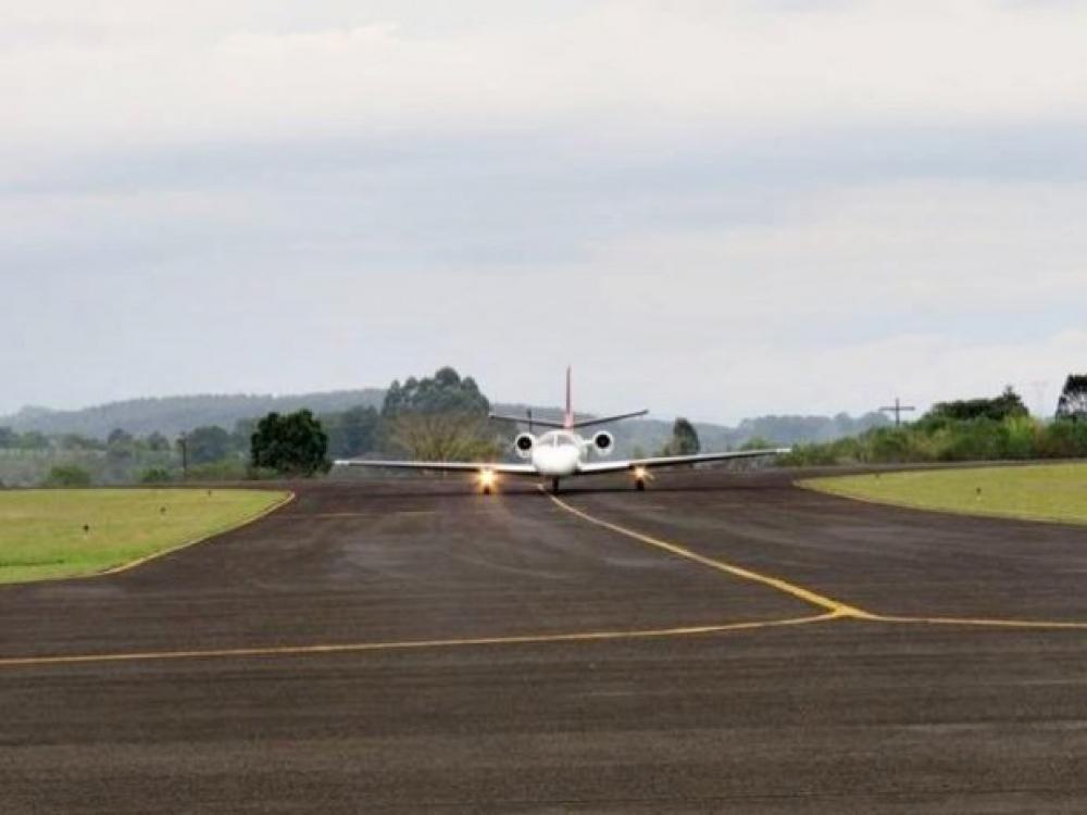 Aeroporto Santa Terezinha, em Joaçaba, terá investimento federal de R$ 16,3 milhões
