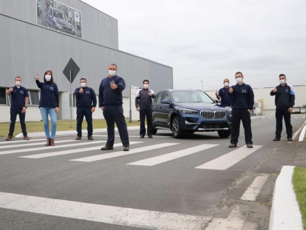 BMW Group Brasil celebra 70 mil veículos produzidos na fábrica de Araquari