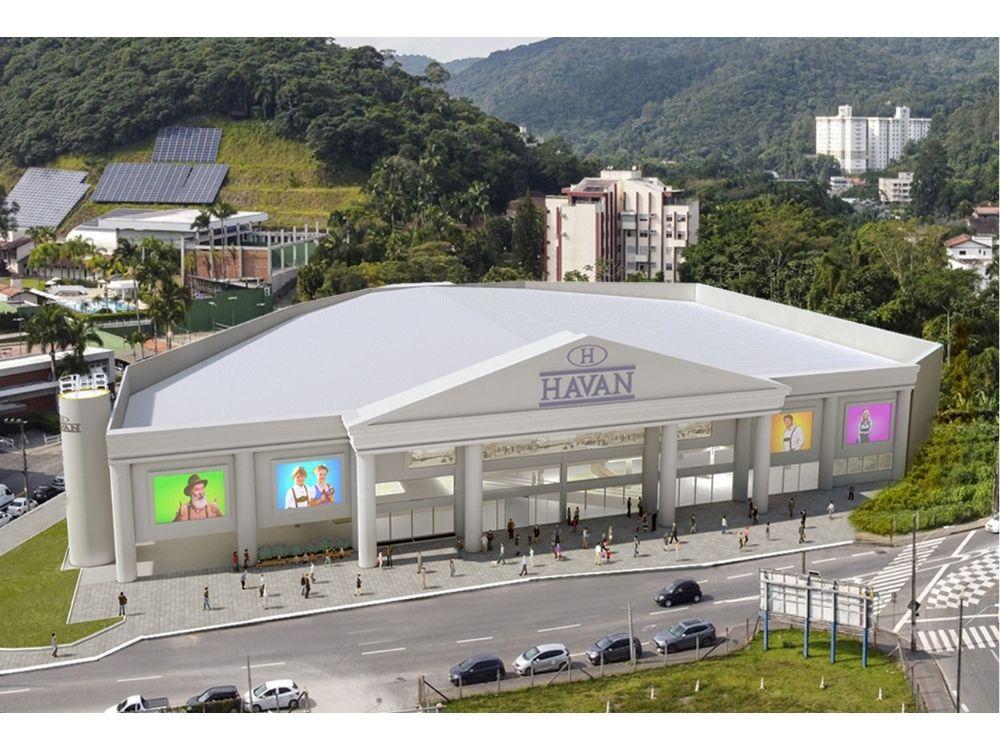 Havan tem projeto aprovado pelo COPE para loja em Blumenau