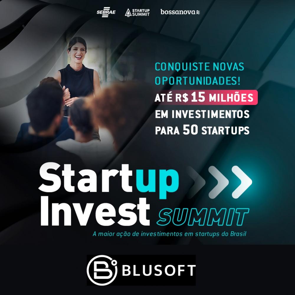 Blusoft é um dos patrocinadores do Startup Summit 2021