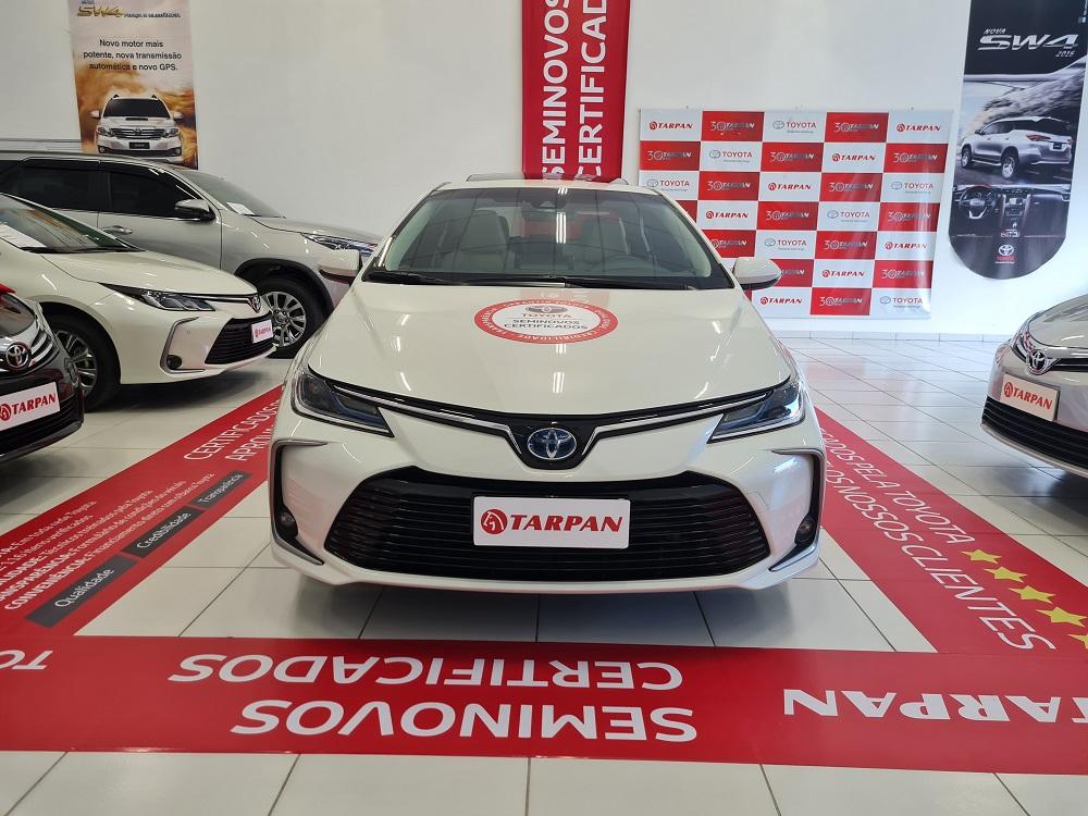 Tarpan disponibiliza Seminovos Certificados da Toyota com 1 ano de garantia de fábrica