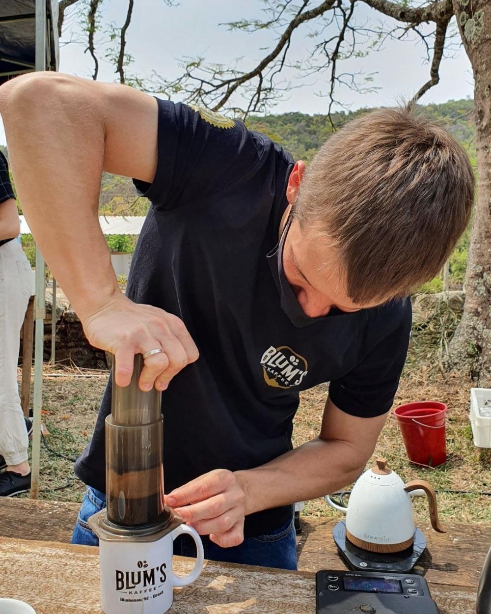 Blum's Kaffee, torrefação de café de Blumenau, participa de concurso internacional